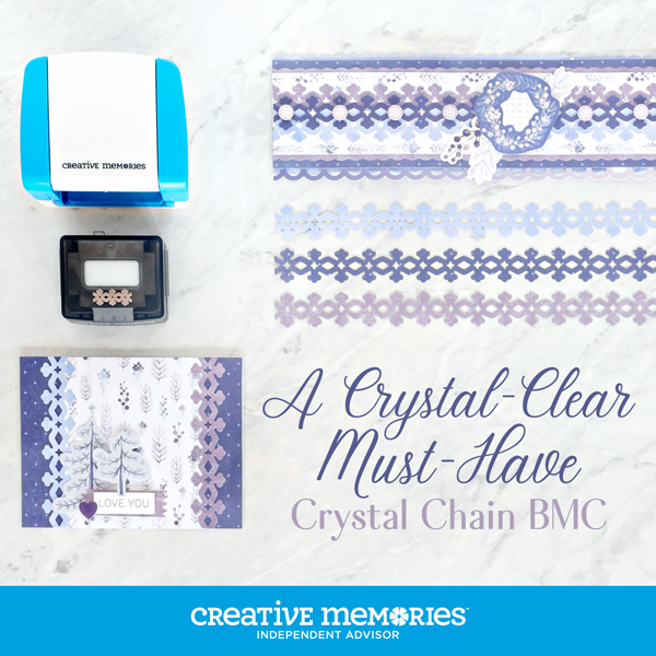 Crystal Chain Border Maker Cartridge